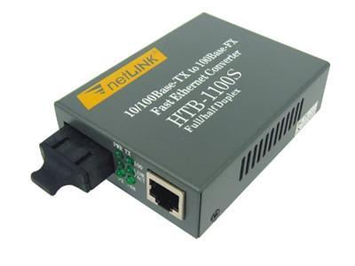 Fiber Optic Ethernet on 10 100m Single Mode Wdm Fiber Optic Ethernet Media Converter   Htb