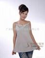 銀纖維防輻射弔帶衫專業供應商-廣州珊瑚SHE006,適合夏季 3
