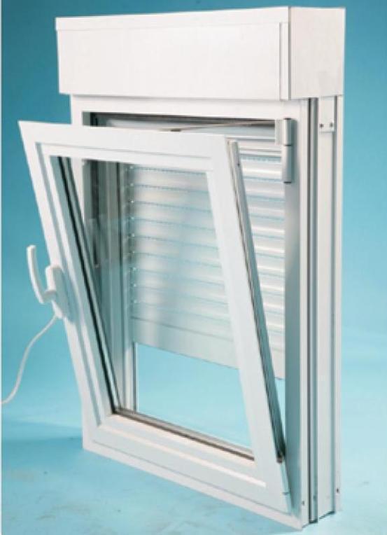 Double Glazed Windows Diy : Double glazed window combined to roller shutter eco