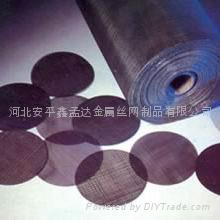 black wire mesh