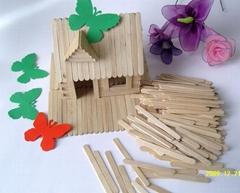 natural craft wooden sticks