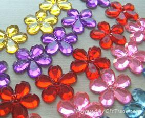22mm Craft Flower Gems 1