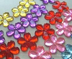 22mm Craft Flower Gems