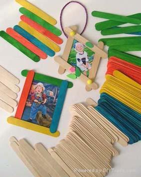 Jumbo Craft Wooden Sticks 1