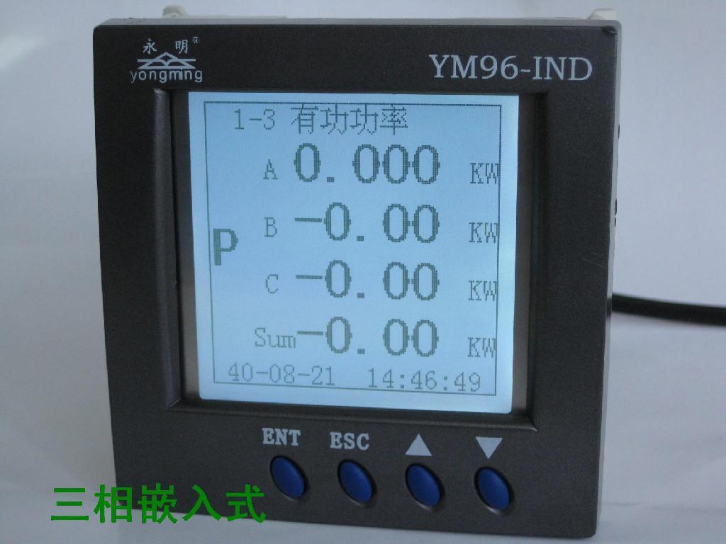 产品信息 电子,电力 仪器,仪表 电工仪器仪表  ym96-ind系列网络电力