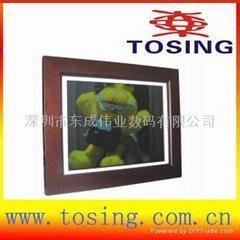 15 inch digital photo frame multi-function