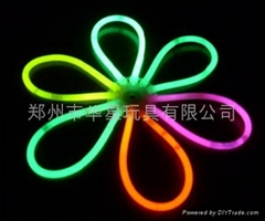 glow bracelet, light bracelet,glow petals,glow lantern