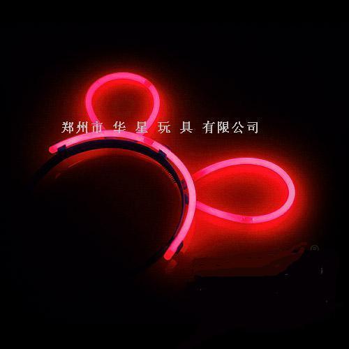 glowstick , glow hairpin, light hair clip 3