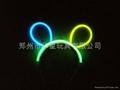 glowstick , glow hairpin, light hair clip 5
