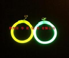 荧光棒 发光耳环