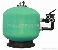 廣東廣州側出式沙缸過濾器
