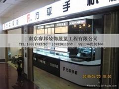 江蘇南京手機展櫃設計製作