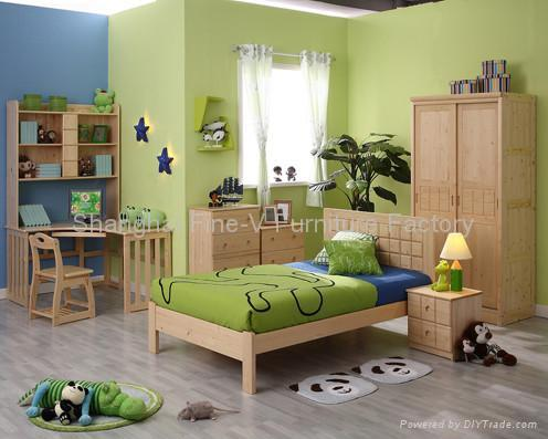 Kids Bedroom Furniture on Children S Bedroom Furniture   Fv B Set 001  China Manufacturer