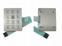 stainless steel function keypad