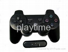 Wireless Dual Shock Controller with SIX AXIS for PS3(2.4Ghz)