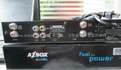 Azbox EVO XL DVB-S Satellite receiver to Sounth America