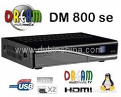 DM800HD SE-S with A8P simcard,Set top box 800hd se