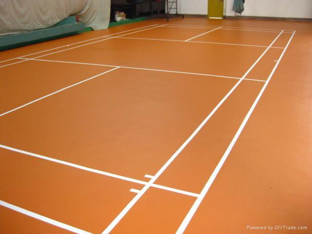 Pvc Vinyl Sports Floor For Badminton Court Yc Yichen