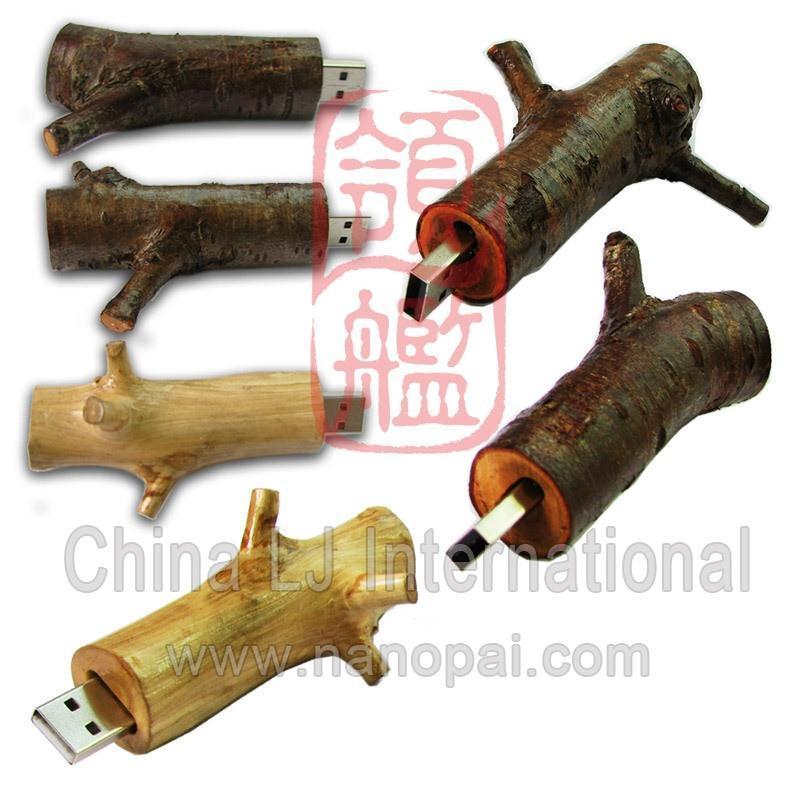 wood branch usb flash disk / usb flash drive 2