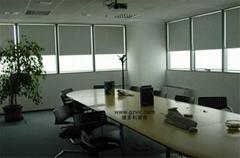 办公室窗帘 电动窗帘