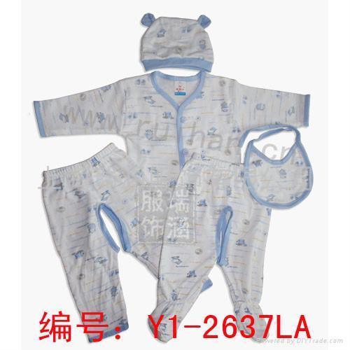 純棉嬰儿服 1