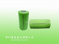 Ni-MH rechargeable Button cell battery