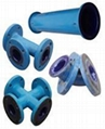 Rubber/PTFE/Glass-lined Pipe and Fittings
