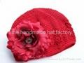 crochet infant hat, toddler hat, baby hat 1