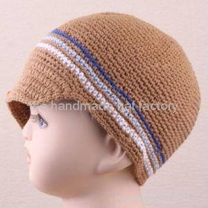 Crochet Newsboy Hat 1