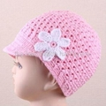 Crochet Newsgirl Hat