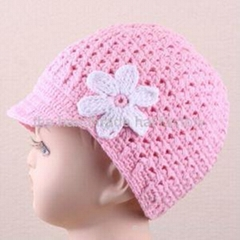 Crochet Newsgirl Hat