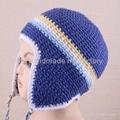 Crochet Earflap Beanie Hat