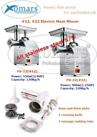 #22 Meat Mincer/Grinder 2