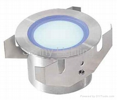 350mA 3W CREE LED ground light with IP68 stainless steel 316 material housing