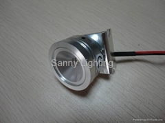 700mA 3W CREE LED Downlight with aluminum material housing