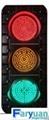 3 colors LED traffic signal light 1
