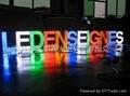 LED外露式單雙色全彩發光字
