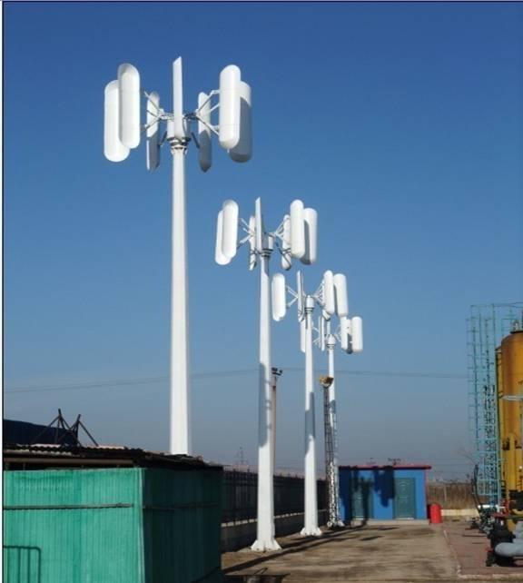 Vertical Axis Wind Turbine(Generator)3KW/50RPM - QM-VAWT-3.0KW - qm ...