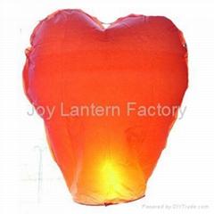 Heart Shape Sky Lantern