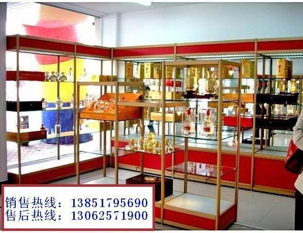南京玻璃貨架 1