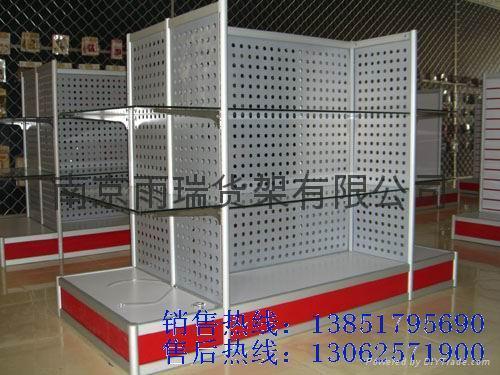 南京玻璃貨架 5