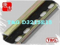 32x15x1.5mm Steel DIN rail-G type