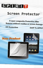 Spirit High Quality Screen Protector for Apple iPad 2