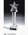 供应西安水晶奖杯 1