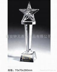 供應西安水晶獎杯