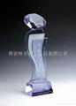 供应西安水晶奖杯 4