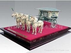 供应陕西西安铜车马