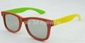 圓偏光塑料立體眼鏡