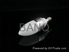 3W LED candle bulbs