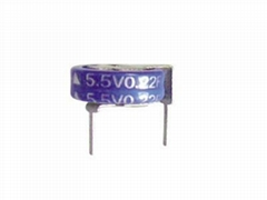 厂家直销 法拉电容叠片型5.5V-0.22F